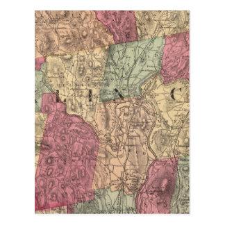 Le comté de Franklin 2 Carte Postale