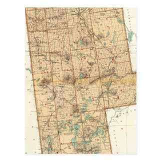 Le comté de Franklin Carte Postale