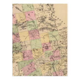 Le comté de Franklin, Maine Carte Postale