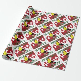 Le COMTÉ DE HOWARD avec le chardonneret Papiers Cadeaux Noël