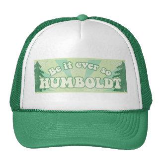 Le comté de Humboldt drôle Casquettes