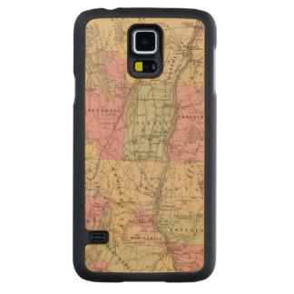 Le comté de Kennebec, Maine Coque Galaxy S5 En Érable