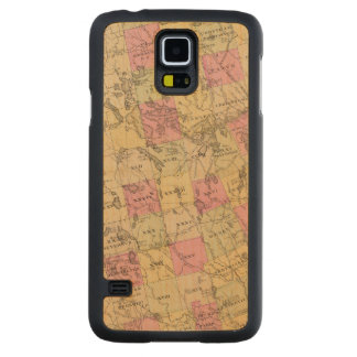 Le comté de Washington, Maine Coque Galaxy S5 En Érable