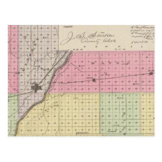 Le comté d'Edwards, le Kansas Carte Postale