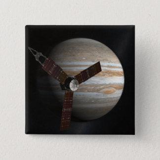 Le concept de l'artiste du vaisseau spatial de badge