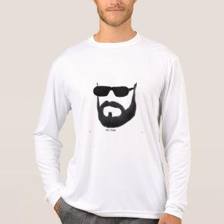 Le concurrent du Sport-Tek des hommes de barbe T-shirt