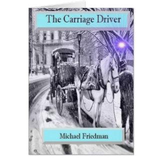 Le conducteur de chariot, une belle carte de voeux