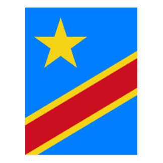 le Congo démocratique Carte Postale