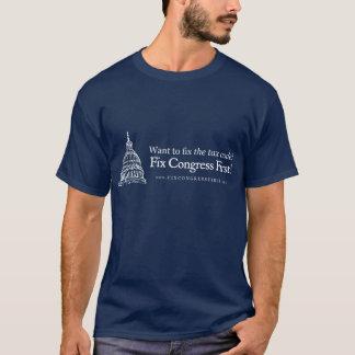 Le congrès de difficulté de code fiscal d'abord t-shirt