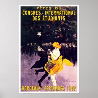 Le congrès des célébrations d'étudiants de posters