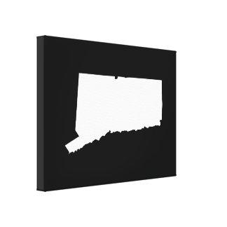 Le Connecticut dans le blanc et le noir Toiles