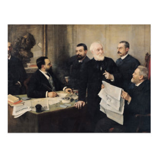 Le conseil d'administration carte postale