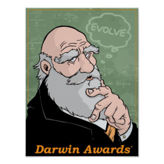 Le conseil de Charles Darwin Posters