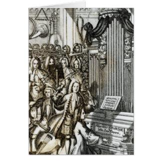 Le considérant d'organe carte de vœux