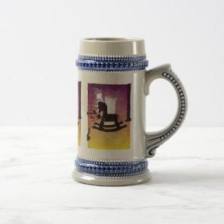 Le cool badine l'art de bruit en bois de jouet de  tasse à café