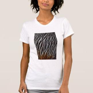 Le coq de jungle fait varier le pas du plan t-shirt