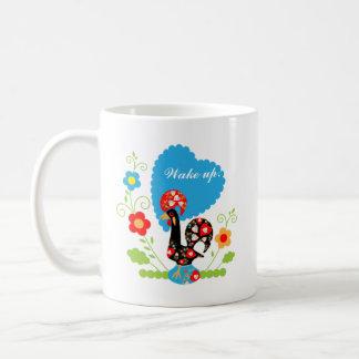 Le coq portugais de la chance mug