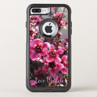 """Le coque iphone """"amour d'arbre de thé rose"""
