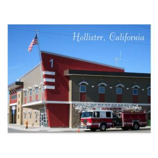 Le corps de sapeurs-pompiers de Hollister Cartes Postales