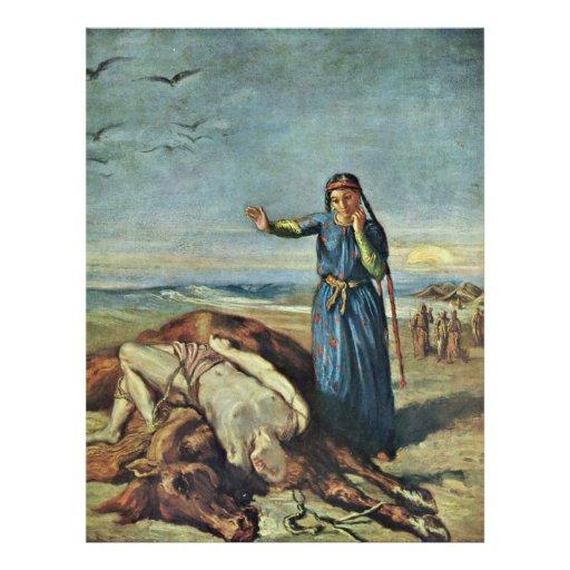 Le corps des filles de Cosaque de Mazeppa par Chas Prospectus Avec Motif