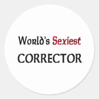 Le correcteur le plus sexy du monde adhésif rond