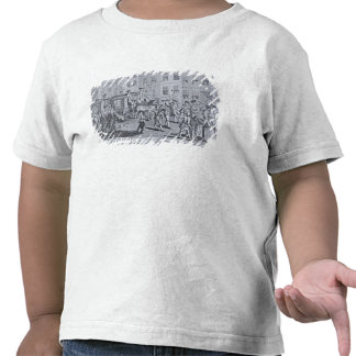 Le cortège britannique de patriotes t-shirt