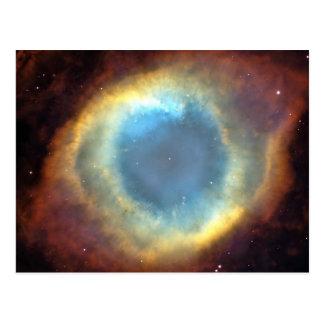 Le cosmos d'univers tient le premier rôle l'espace carte postale