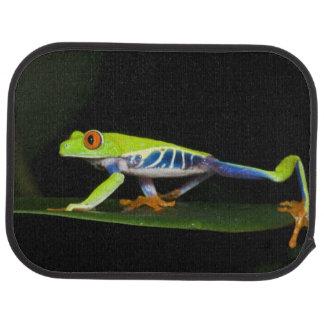Le Costa Rica, grenouille d'arbre aux yeux rouges Tapis De Sol