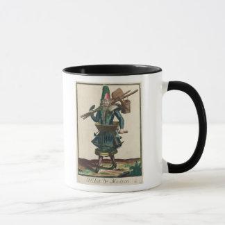Le costume du maçon mug