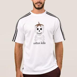 Le coton tue le T-shirt sportif
