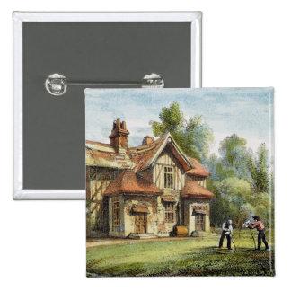 Le cottage de la Reine, Richmond fait du jardinage Badge