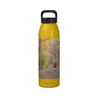 """""""Le coureur bouteille d'eau dans en bois"""""""