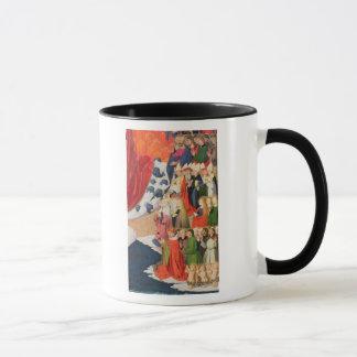 Le couronnement de la Vierge, accompli 1454 Mug