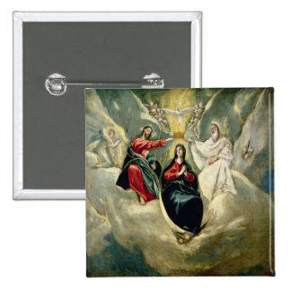 Le couronnement de la Vierge, c.1591-92 Pin's