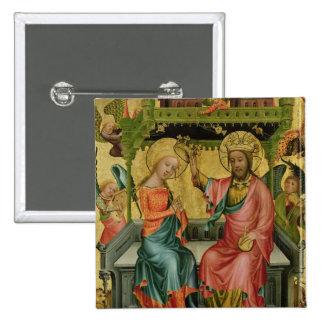 Le couronnement de la Vierge, de la droite Badge