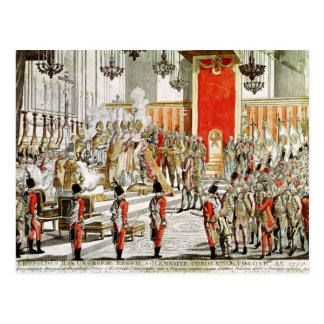 Le couronnement de Leopold II à Bratislava Carte Postale