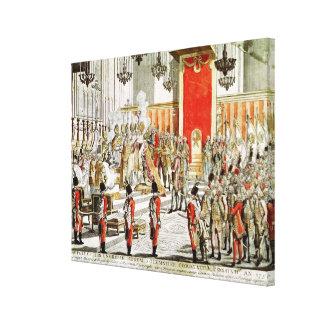 Le couronnement de Leopold II à Bratislava Toiles