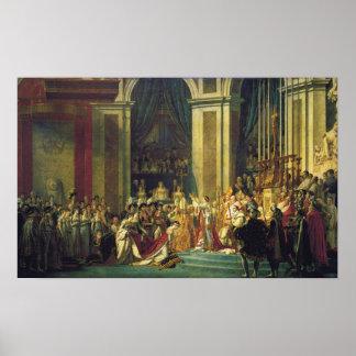 Le couronnement du napoléon posters