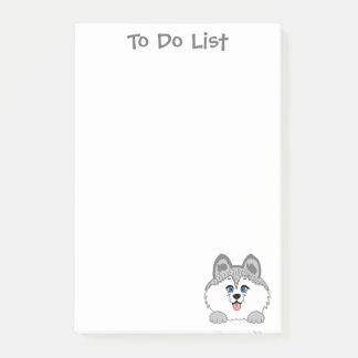 Le Courrier-it® enroué de chien note 4 x 6