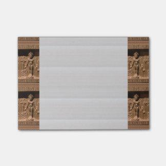 """Le Courrier-it® note 4"""" x 6"""" les statues Notes Autocollantes"""
