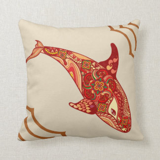 Le coussin de baleine d'amour