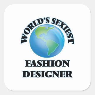 Le couturier le plus sexy du monde stickers carrés