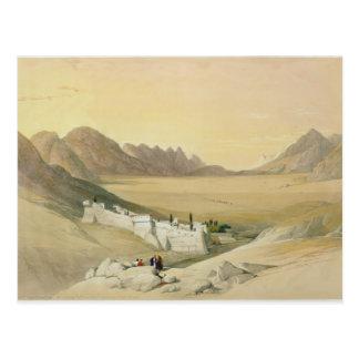 Le couvent de St Catherine, mont Sinaï Cartes Postales