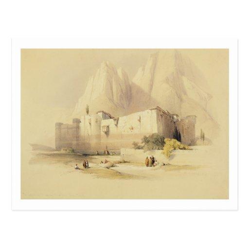 Le couvent de St Catherine, mont Sinaï, Februar Cartes Postales