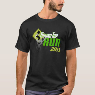 Le couvercle rond courent le T-shirt 2013