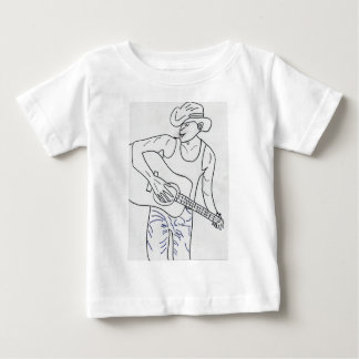 LE COW-BOY COUNTRY.jpg T-shirt Pour Bébé