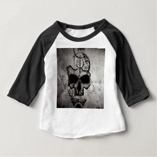Le crâne de Hyman T-shirt Pour Bébé