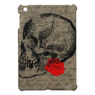Le crâne et s'est levé coques pour iPad mini