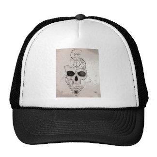 Le crâne Posterized de Hyman Casquettes De Camionneur