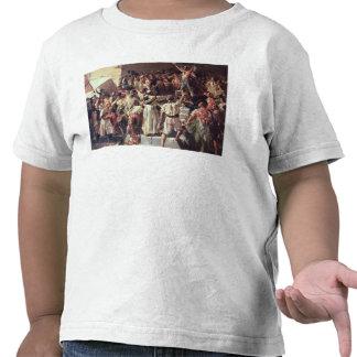 Le cri de la déclaration de Palleter était allumé T-shirt
